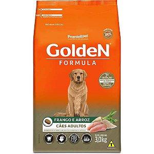 Golden Formula Cães Adulto Frango 3Kg