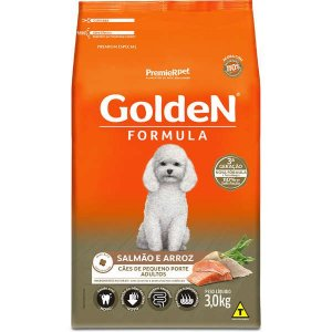 Golden Formula Cães Adulto Salmão Mini Bits 3Kg