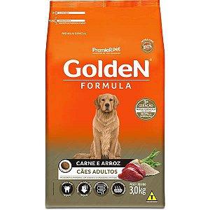 Golden Formula Cães Adulto Carne 3Kg