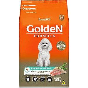 Golden Formula Cães Adulto Frango Mini Bits 3Kg