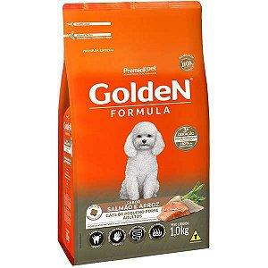 Golden Formula Cães Adulto Salmão Mini Bits 1Kg