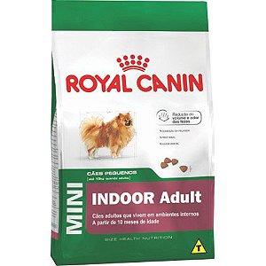 Royal Canin Mini Indoor Adult para Cães Adultos de Raças Pequenas 1KG
