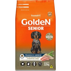 Golden Formula Cães Adulto Senior Mini Bits 3Kg