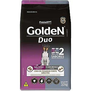 Golden Formula Cães Adulto Duo Salmão e Cordeiro/Ervas Mini 3Kg