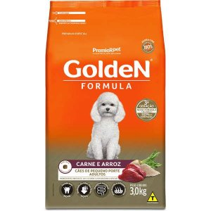 Golden Formula Cães Adulto Carne Mini Bits 3Kg