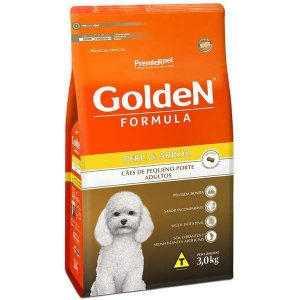 Golden Formula Cães Adulto Peru Mini Bits 3Kg
