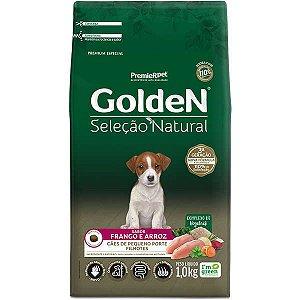Golden Seleção Natural Cães Filhote Mini Bits 1Kg