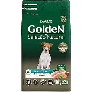 Golden Seleção Natural Cães Adulto Mini Bits 3Kg