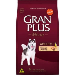 GRAN PLUS MENU ADULTO FRANGO E ARROZ 15KG