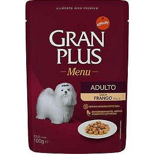 GRAN PLUS SACHE CÃO FRANGO 100G