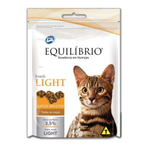 EQUILÍBRIO SNACK GATO LIGHT 40GR