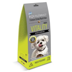 EQUILÍBRIO FREEZE DRIED SNACK VITALITY 30G