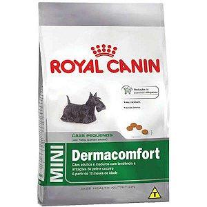 Royal Canin Mini Dermacomfort para Cães Adultos ou Idosos de Raças Pequenas 7,5KG