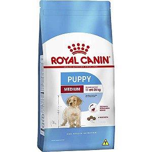 Royal Canin Medium Junior para Cães Filhotes de Raças Médias de 2 a 12 Meses de Idade 15KG