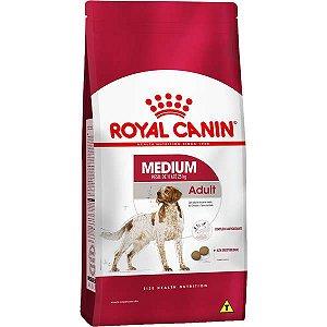 Royal Canin Medium Adult para Cães Adultos de Raças Médias a partir de 12 Meses de Idade 15KG