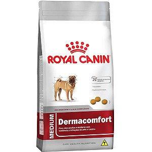 Royal Canin Medium Dermacomfort para Cães Adultos ou Idosos de Raças Médias 10,1KG