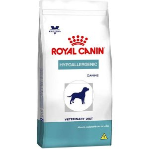 Royal Canin Canine Veterinary Diet Hypoallergenic para Cães Adultos com Alergias 10,1KG