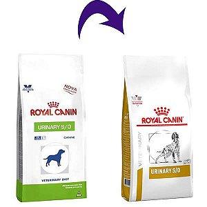 Royal Canin Canine Veterinary Diet Urinary S/O para Cães com Doenças Urinárias 2KG