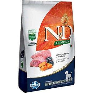 N&D Pumpkin Cordeiro para Cães Adultos de Raças Médias 2,5KG