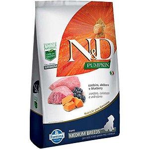 N&D Pumpkin Cordeiro para Cães Filhotes de Raças Médias 2,5KG