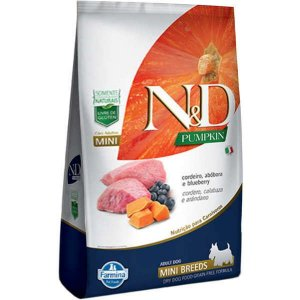 N&D Pumpkin Cordeiro para Cães Adultos de Raças Pequenas 800G