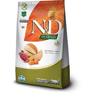 N&D Pumpkin Pato, Abóbora e Melão para Gatos Adultos 400G