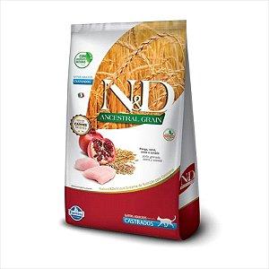 N&D Ancestral Grain Frango Gatos Adultos Castrados 7,5KG