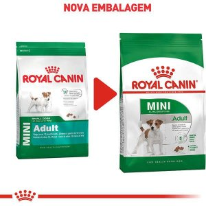 Royal Canin Cães Mini Adult 2,5Kg