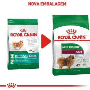 Royal Canin Cães Mini Indoor Adulto 2,5Kg