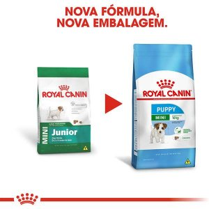 Royal Canin Cães Mini Júnior 2,5Kg