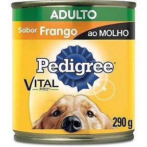 PEDIGREE LATA FRANGO AO MOLHO 290G