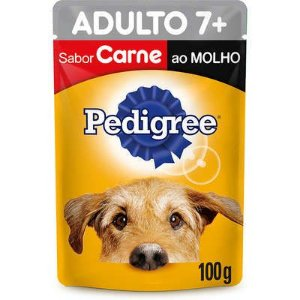 PEDIGREE SACHE ADULTO 7+ CARNE 100G