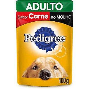 PEDIGREE SACHÊ ADULTO CARNE 100G
