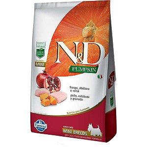 N&D Pumpkin Frango para Cães Adultos de Raças Pequenas 2,5KG