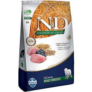 N&D Ancestral Grain Cordeiro Cães Adultos Raças Grandes 10,1KG