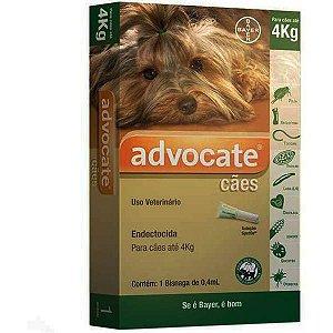 Advocate Dog 1 x 0,4ML Até 4Kg