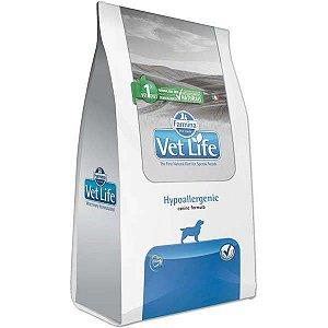 Vet Life Natural Hypoallergenic para Cães Adultos com Problemas de Pele 2KG