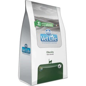 Vet Life Natural Obesity para Gatos Adultos Obesos 2KG