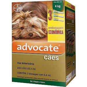 Advocate Dog Combo (0,4) Até 4Kg