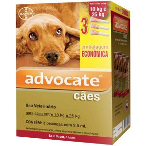 Advocate Dog Combo (2,5) 10 A 25Kg