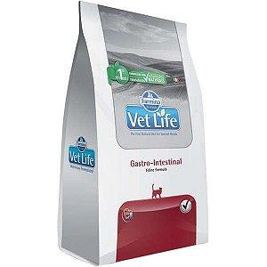 Vet Life Gastro-Intestinal para Gatos Adultos com Dificuldades Digestórias 400G