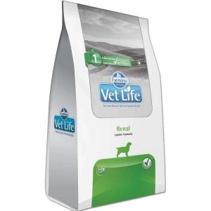Vet Life Natural Renal para Cães Adultos com Insuficiência Renal 2KG