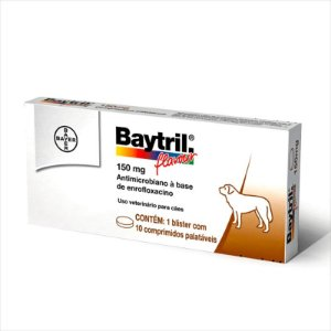 Baytril Flavour - 150 Mg 10 Comprimidos
