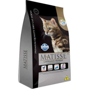 Matisse Frango para Gatos Adultos Castrados 800G