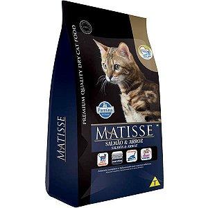 Matisse Para Gatos Adultos Sabor Salmão E Arroz 7,5KG