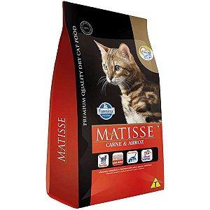 Matisse Carne e Arroz para Gatos Adultos 7,5KG