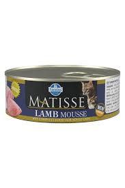 Lata Matisse para Gatos Mousse Cordeiro 85G