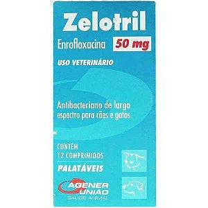 Antibacteriano Agener União Zelotril 12 comprimidos - 50MG