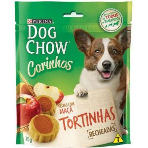 BISCOITOS DOG CHOW CÃES CARINHOS TORTINHAS 75G