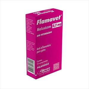 Flamavet Agener União para Gatos 10 comprimidos - 0,2 MG